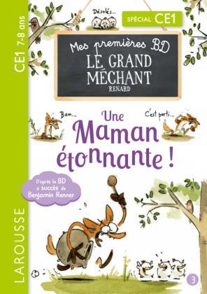 Mes premières BD le Grand Méchant Renard - Une maman étonnante !