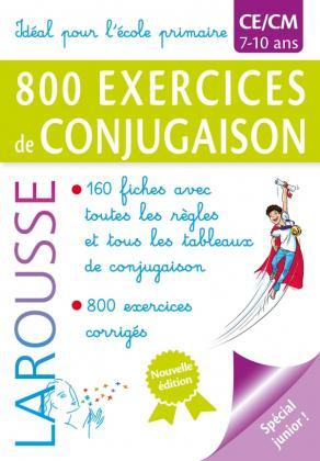 800 exercices de conjugaison