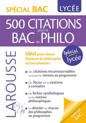 Citations incontournables de philosophie