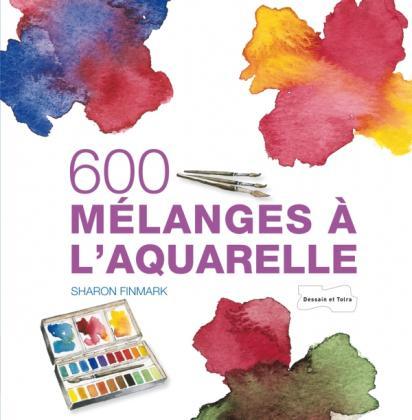 600 mélanges à l'aquarelle