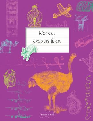 Notes, croquis, etc.