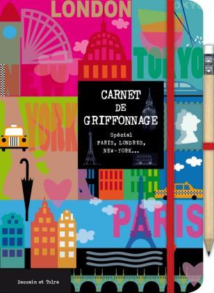 Carnet de griffonnage - Paris-Londres-New York