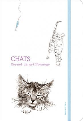Carnet de griffonnage chats