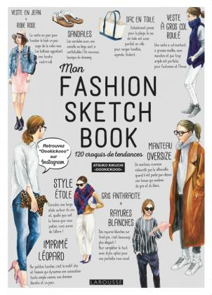 Mon fashion sketch book