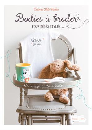 Bodies à broder pour bébés stylés