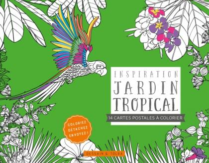 Cartes postales Inspiration jardin tropical
