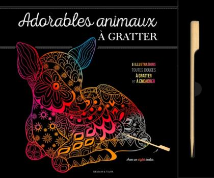 Adorables animaux à gratter