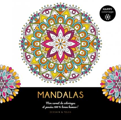 Mandalas - Happy coloriage