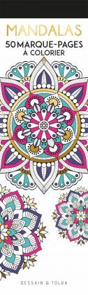 Marque-pages à colorier - Mandalas