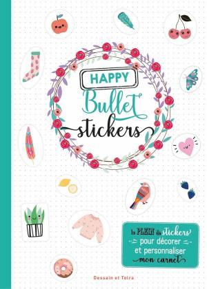 Happy bullet stickers