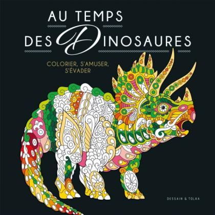 Coloriage Black - Au temps des dinosaures