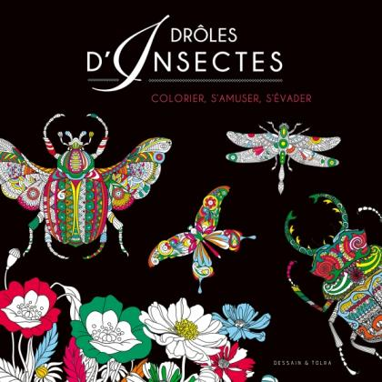 Coloriage Black - Insectes
