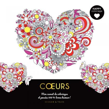 Happy coloriage - Coeurs