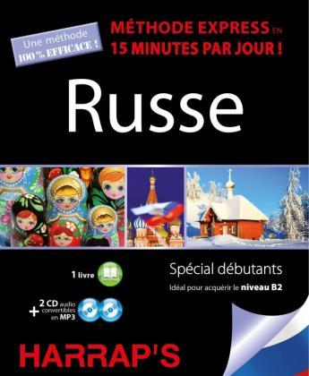 Harrap's méthode express russe - 2 CD + livre