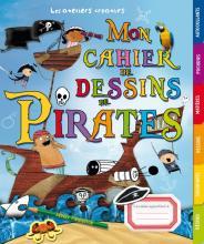 Mon cahier de dessins de pirates