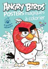 Posters magiques à colorier Angry Birds