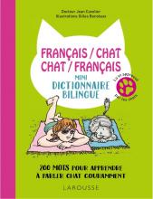 Français/chat-Chat/Français-Mini-dictionnaire bilingue