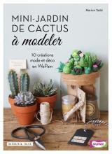 Mini-jardin de cactus à modeler