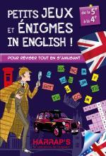 Harrap s Petits jeux et énigmes in english 5/4ème