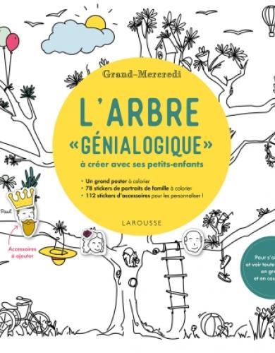 """L'arbre """"génialogique"""" à créer avec ses petits-enfants par Grand-Mercredi"""