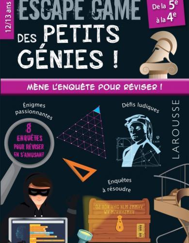 Escape game des petits génies 5e-4e