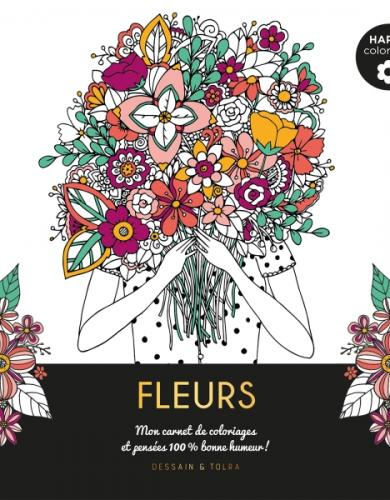 Fleurs - Happy coloriage