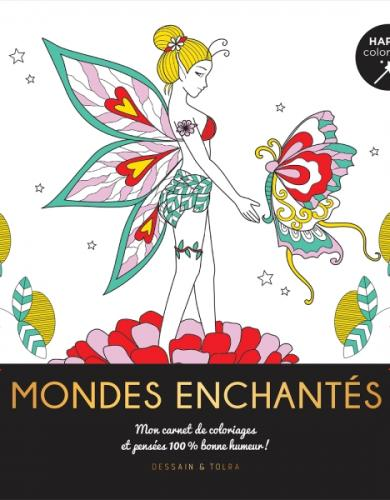 Mondes enchantés - Happy coloriage
