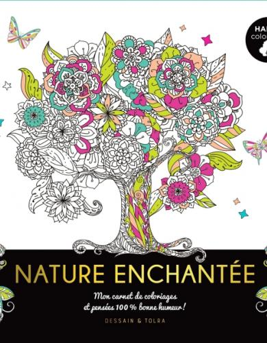 Happy coloriage Nature Enchantée