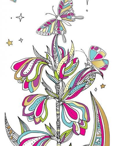 Marque-pages Nature enchantée